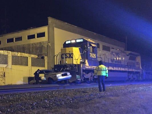 INI Train-car collision