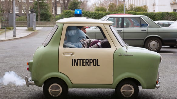 Ty Burrell takes his 'Muppets' mini out