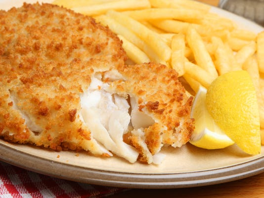 Breaded Fish Fillet & Fries