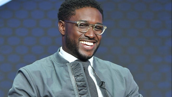 BEVERLY HILLS, CA - AUGUST 07: Reggie Bush of Fox Sports speaks during the Fox segment of the 2019 Summer TCA Press Tour at The Beverly Hilton Hotel on August 7, 2019 in Beverly Hills, California. (Photo by Amy Sussman/Getty Images) ORG XMIT: 775371112 ORIG FILE ID: 1160276508