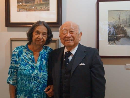 Bridgeton Legends Gwendolyn Gould and John Fuyuume