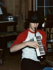 Joe Trainor at the age of 15.