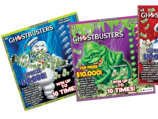 NM Lottery Ghostbusters tickets photos