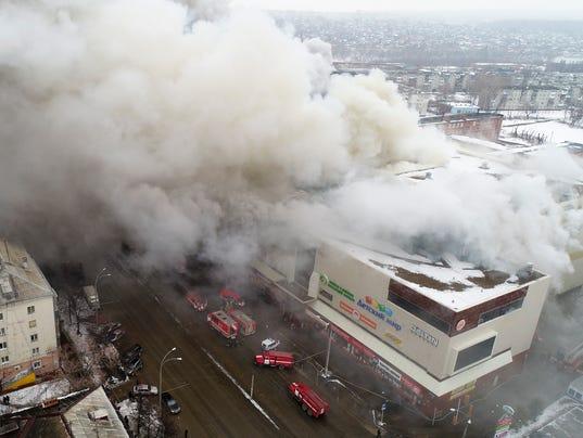 AP RUSSIA FIRE I RUS