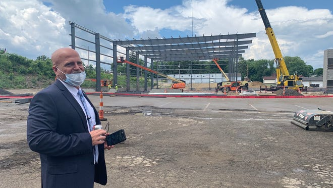 Dan Flowers, president and CEO of the Akron-Canton Regional Foodbank, said a new $8 million facility in Canton should open July 2021.