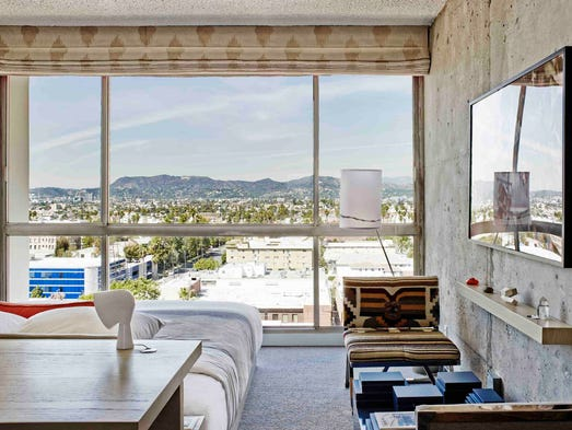 The LINE Hotel is the 20th most booked hotel in Los