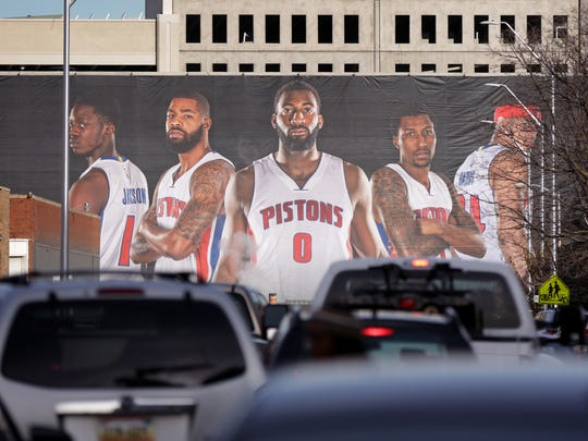 The Detroit Pistons announced that they were moving
