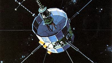 Drawing of ISEE-3