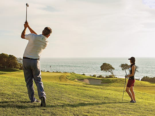 Monarch Beach Resort is one of the few oceanfront courses in the state of California.