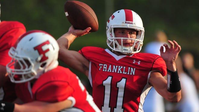 Franklin quarterback Dalton Cochran.