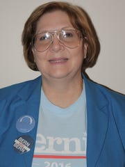 Sheri Morgan, chairwoman of the Franklin County Democratic