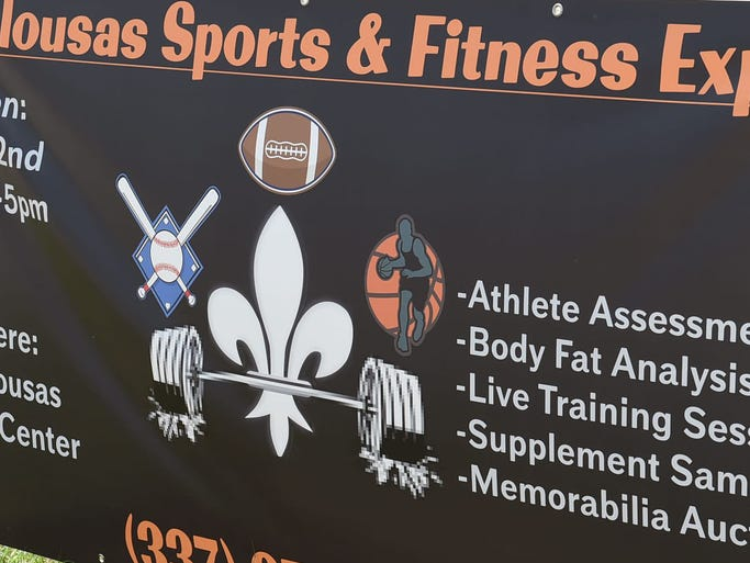 Opelousas Sports and Fitness Expo held Saturday at