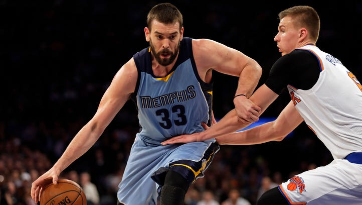 Marc Gasol could be out the remainder of the season with a broken foot.