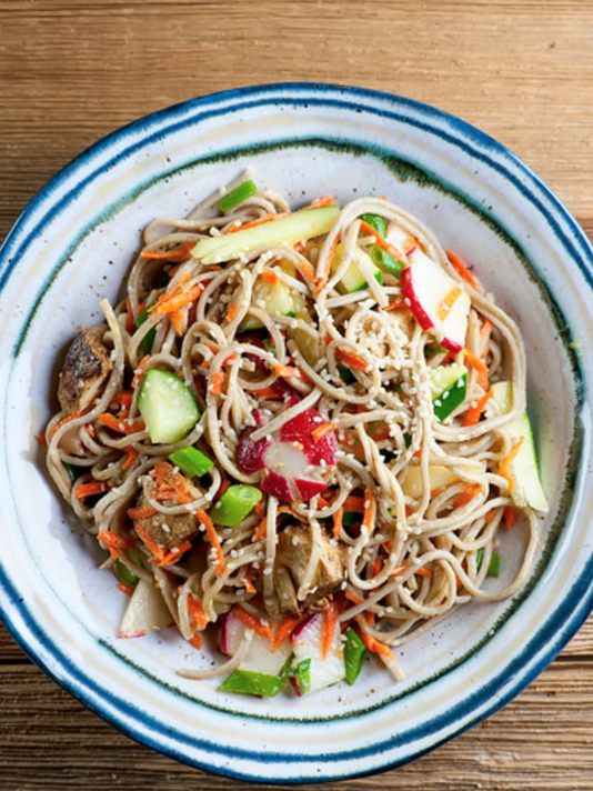 In the kitchen -- Soba noodles