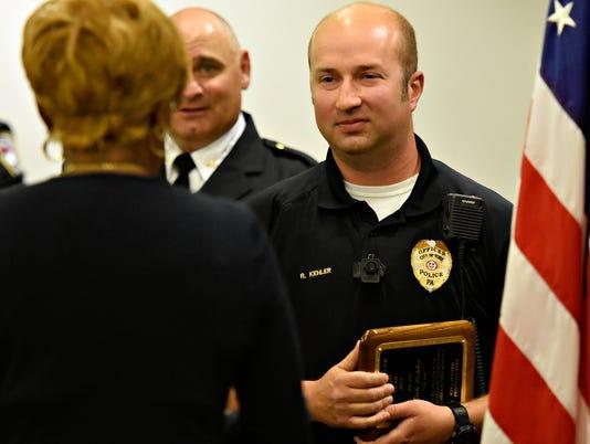 York City Police Department Awards