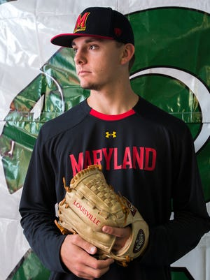 Parkside's Hunter Parsons signed with University of Maryland for baseball.