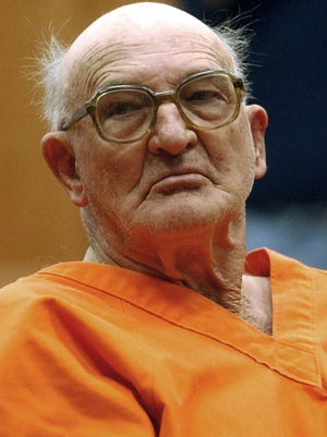 Edgar Ray Killen, shown Jan. 7, 2005, at the Neshoba County Courthouse in Philadelphia, Miss.,was convicted in 2005 of three counts of manslaughter in the slayings of civil-rights workers James Chaney, Michael Schwerner and Andy Goodman in 1964.
