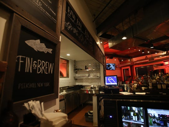 Fin & Brew restaurant at Factoria on the waterfront