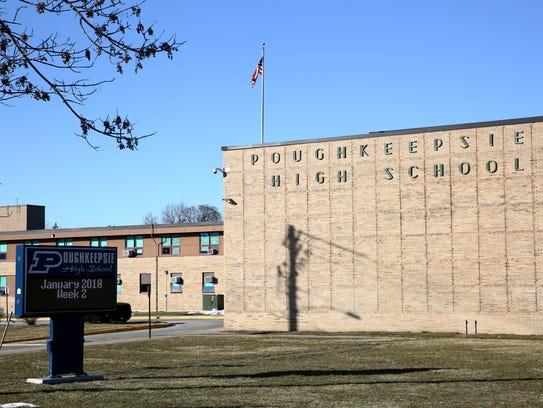 Poughkeepsie High School on Thursday, January 25, 2018.