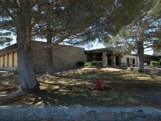 Two parcels of the Santa Teresa Country Club —one including the clubhouse, pictured here Monday, April 23, 2018 — were sold at auction last week by the state.