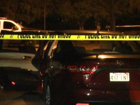 Photo of the crime scene involving an 18-month-old dying in a hot car back in July of 2015