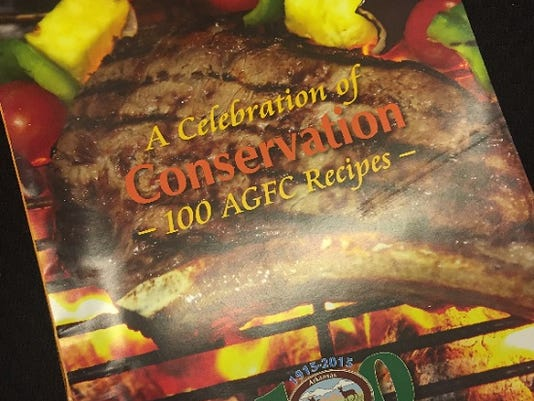 Arkansas Game and Fish Commission 2015 cookbook
