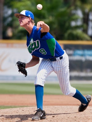 FGCU junior pitcher Josh Dye could be selected high enough in the Major League Baseball Draft to leave the Eagles and start his pro career.