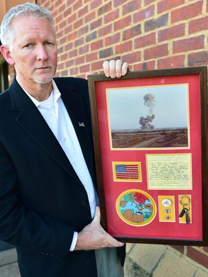 Former U. S. Marine Johnny Harper of Madison was a 21-year old lance corpal in 1982 for the Beriut Bombing in Lebanon. More than 200 people lost their lives in the bombing and Harper is helping to make sure they're remembered.