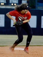 South Side shortstop Josie Willingham has shown her potential on the softball field.