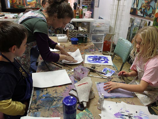 The Abbey Art Studios is hosting three day camps for kids during spring break.