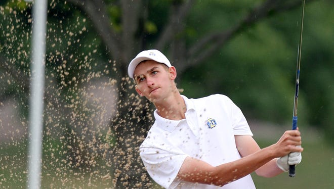 SDSU's Grant Smith is the Summit League men's golfer of the year. (Photo by Dave Eggen/Inertia)
