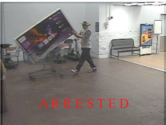 Walmart thief 6/4