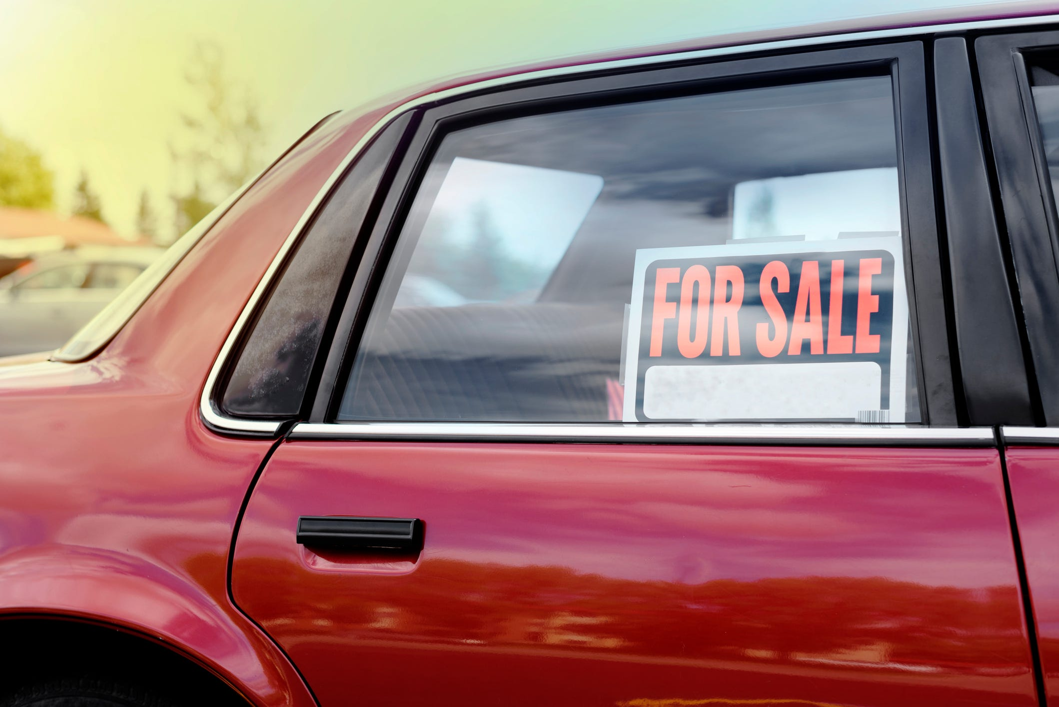 Sites for the sale of cars