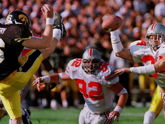 GALLERY KELLY - IOWA-OHIO STATE FOOTBALL