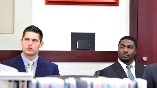 File: Brandon Vandenburg and Cory Batey, defendants in the Vanderbilt rape case.