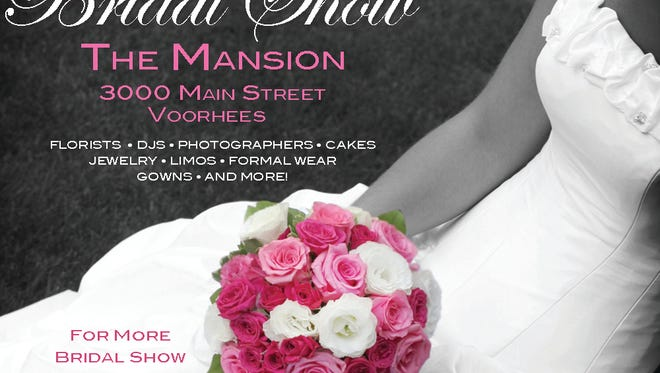 Save the date for The Mansion's Bridal Show.