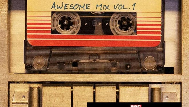 The Guardians of the Galaxy soundtrack is as cool as the movie.