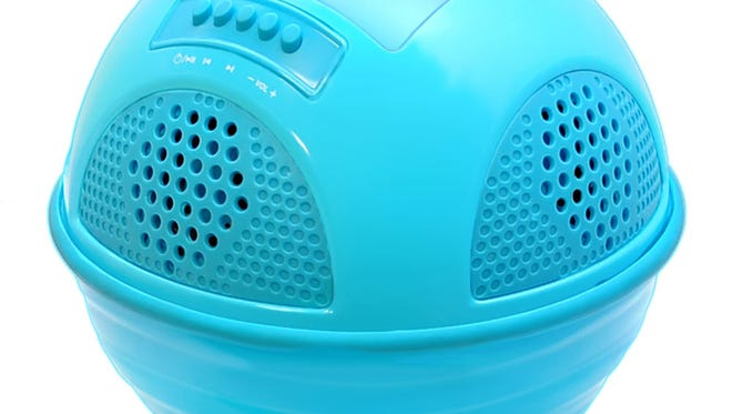 The Aqua SunBlast waterproof Bluetooth speaker.