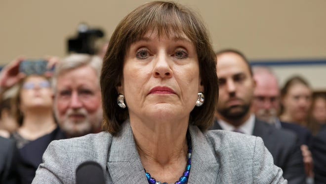 Lois Lerner declines to answer at a congressional hearing a year ago.