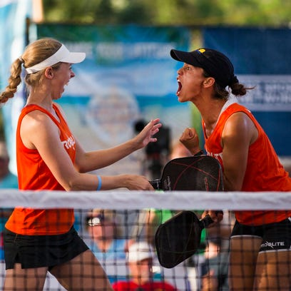 Pickleball: Jardim, Yates close out U.S. Open with doubles titles in front of home crowd