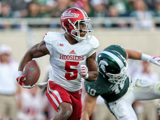 Hard-luck Fishers receiver J-Shun Harris suffered a