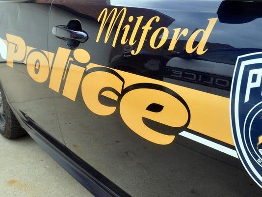 Milford Police door 2