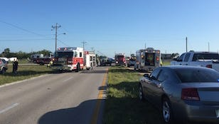A crash with injuries is affecting traffic at Tropicana Parkway and Andalusia Boulevard in Cape Coral. Motorists are being diverted.