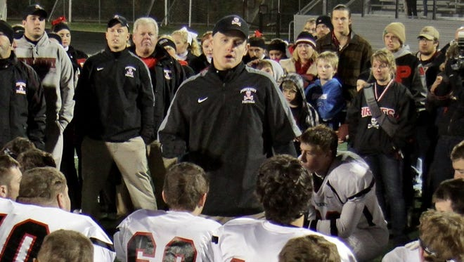 Jakob Gailitis coached Pinckney to the only two state playoff victories in school history.
