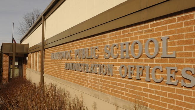 Exterior of the Manitowoc Public School District Administration Offices