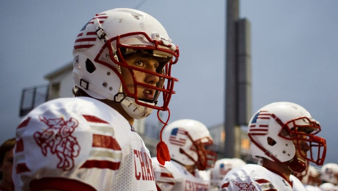Chariton's T.J. Hockenson's record-breaking high school career ended Wednesday. He'll play next year at Iowa.