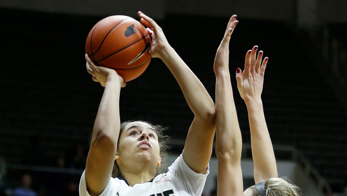 Purdue's McBryde looks back to move forward