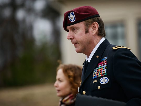 AP Army General Sex Charges