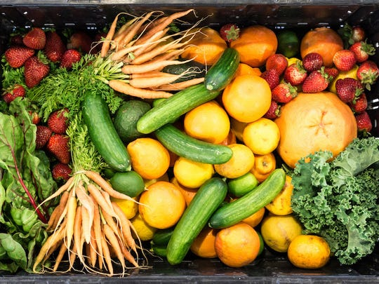 People dealing with food insecurity often have limited access to healthy foods like fresh fruits and vegetables. Local food banks can help fill the gap.