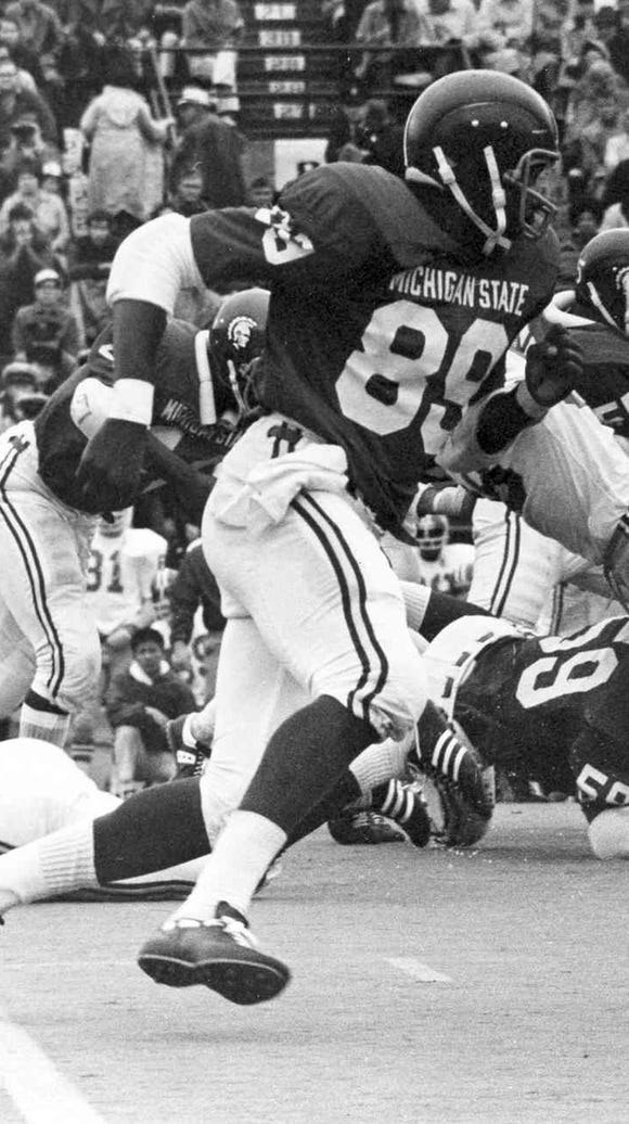 Billy Joe DuPree, a standout at MSU from 1970-72, is